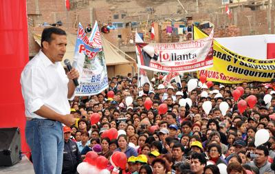 Discurso del Presidente de la República, Ollanta Humala Tasso, durante la inauguración de obras de agua y desagüe en San Martín de Porres y el Callao