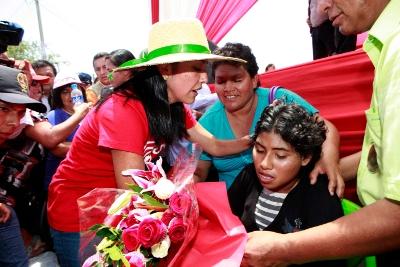 Nadine Heredia: Gobierno trabaja la ruta para la reconstrucción de Ica