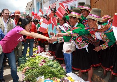 Primera Dama inicia en Cusco campaña para prevenir efectos adversos de la radiación solar