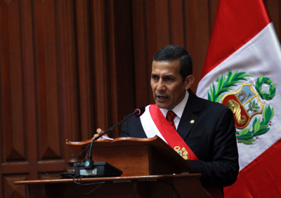 Mensaje a la Nación del Señor Presidente de la República, Ollanta Humala Tasso, con motivo del 191° Aniversario de la Independencia Nacional