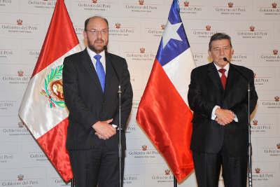 Jefe de Estado recibió en audiencia a Canciller de Chile en Palacio de Gobierno