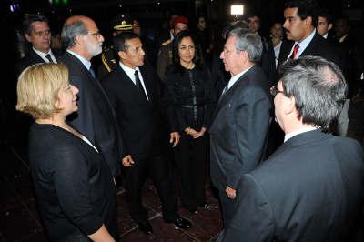 Arriba a Caracas el jefe de Estado para participar en funerales de extinto mandatario venezolano