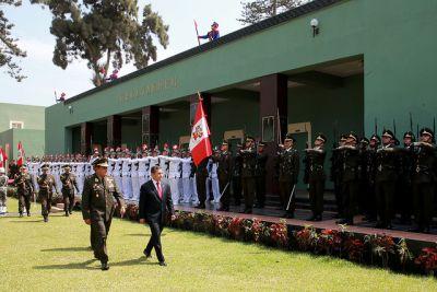 Presidente Humala encabezó ceremonia por aniversario del Combate del Dos de Mayo