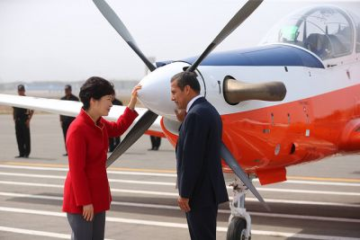 President Humala: Peru, Korea airplane co-production is a historic industrial achievement