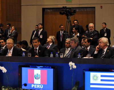 Presidente Ollanta Humala cumbre Iberoameriana