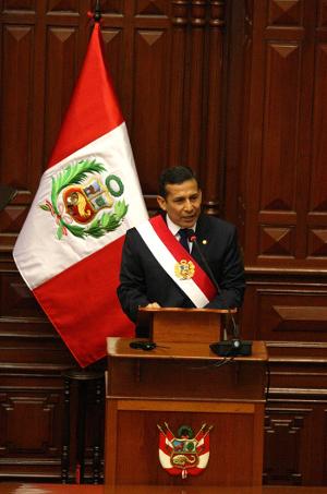 Presidente Ollanta Humala Tasso